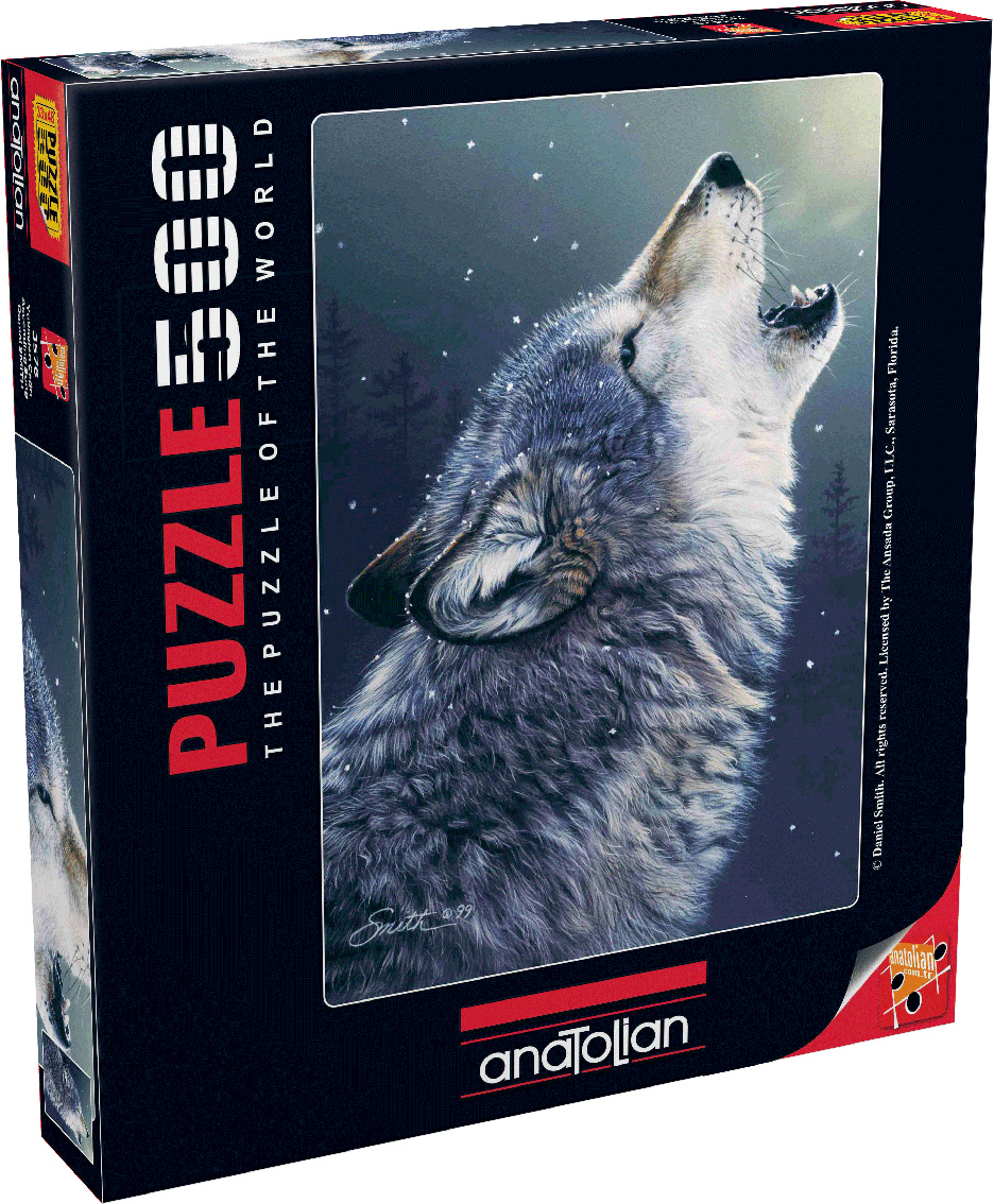 Ascending Song Wolves Jigsaw Puzzle