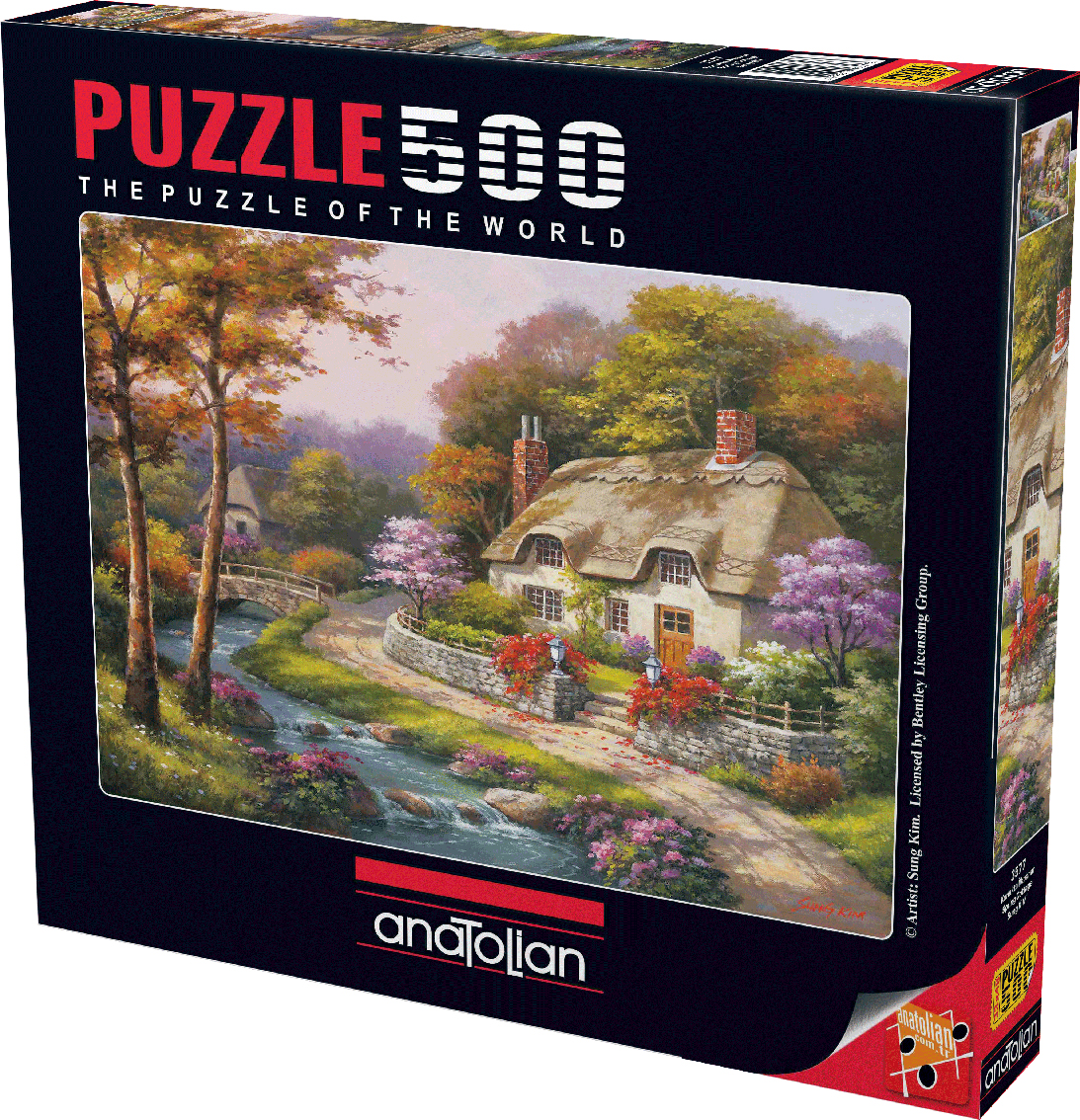 Spring Cottage Spring Jigsaw Puzzle