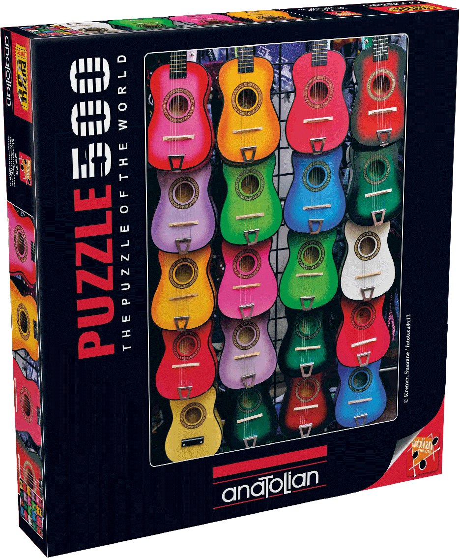 Colored Of Music Music Jigsaw Puzzle