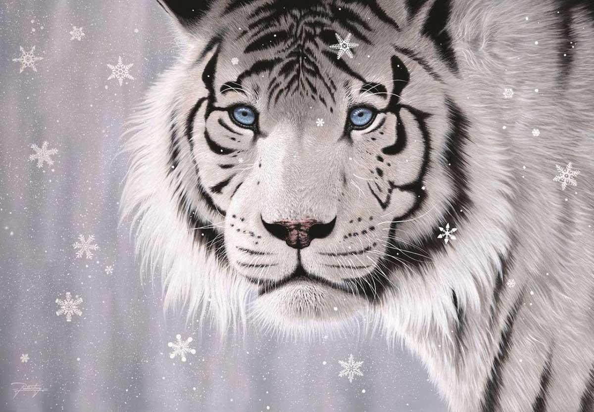 Crystal Eyes Tigers Jigsaw Puzzle
