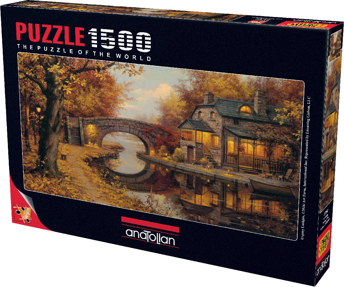 Tranquility Fall Jigsaw Puzzle