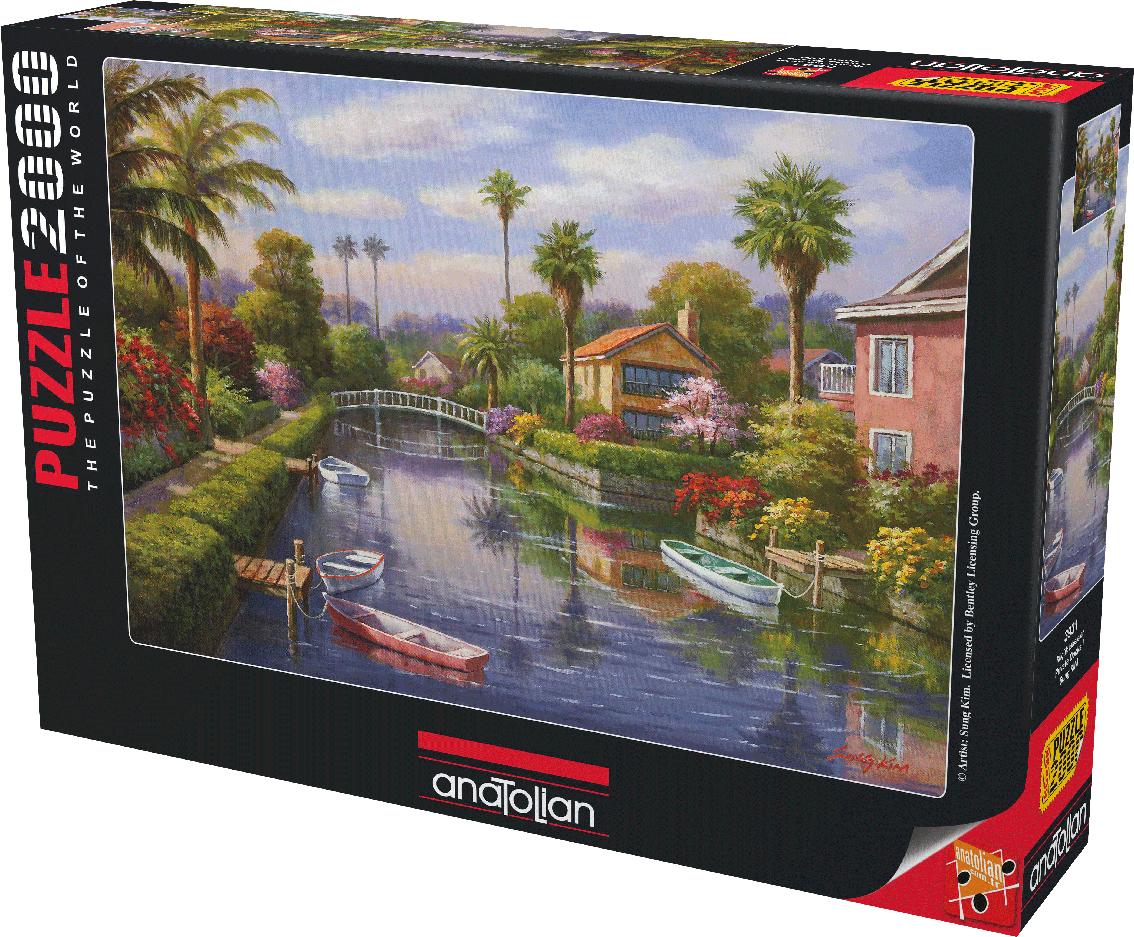 Private Docks I Landscape Jigsaw Puzzle