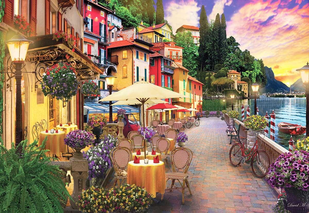 Lake Como Italy Jigsaw Puzzle