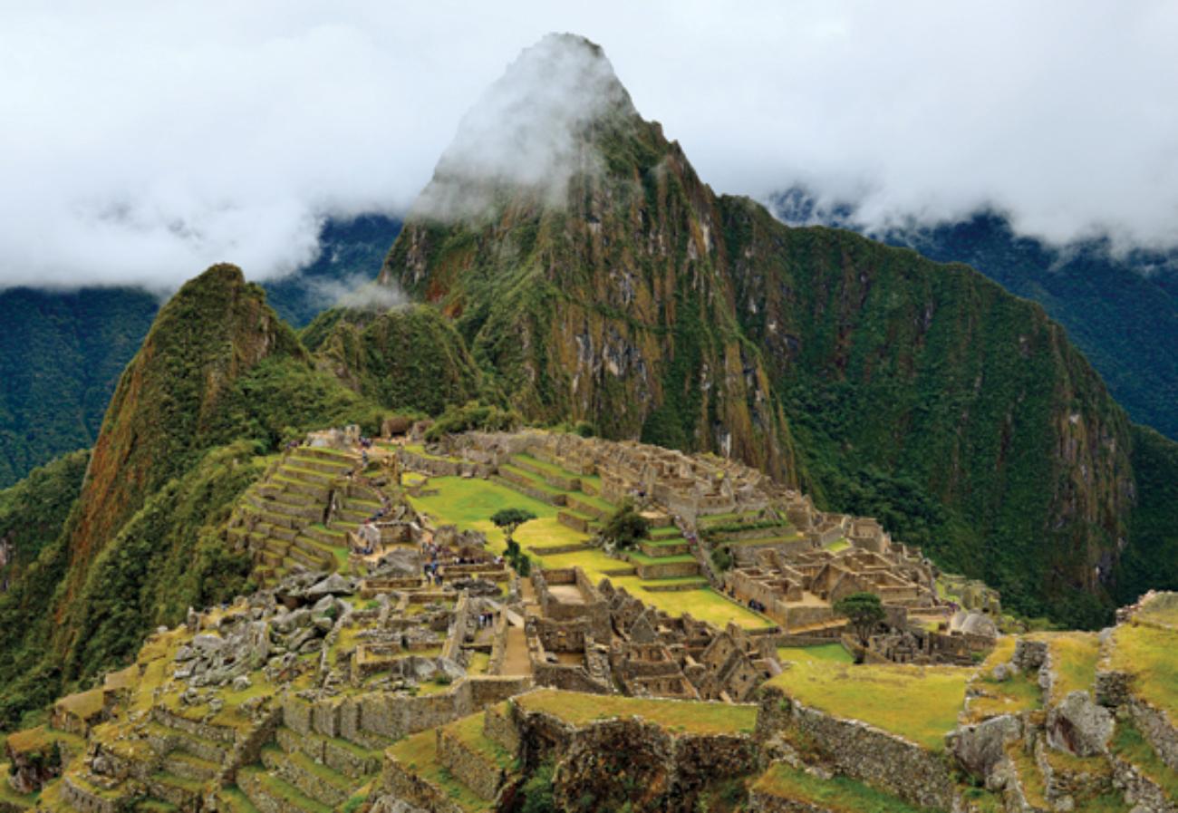 Machu Picchu Mountains Jigsaw Puzzle