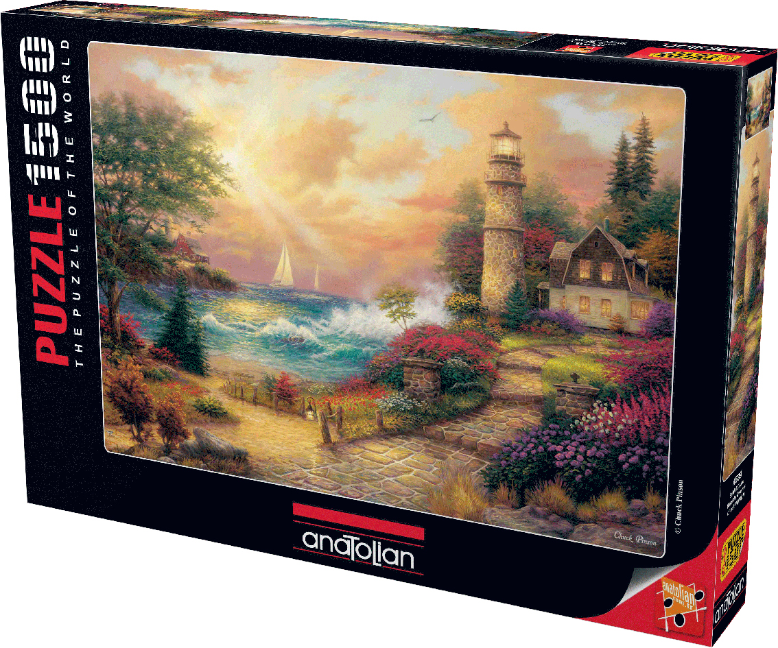 Seaside Dreams Lighthouses Jigsaw Puzzle