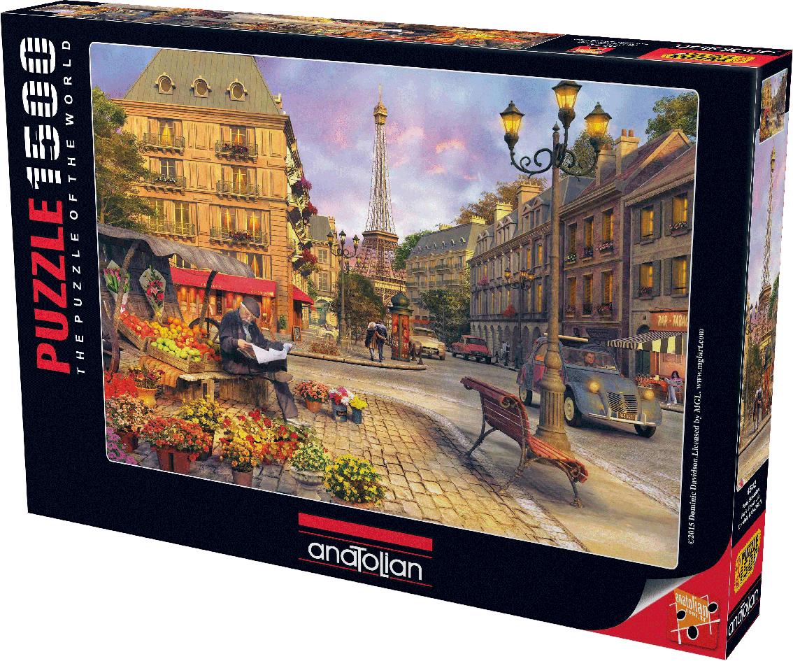 paris street life jigsaw puzzle. Black Bedroom Furniture Sets. Home Design Ideas