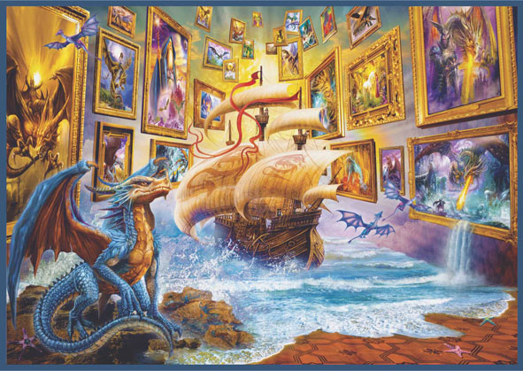 Gallery Surreal Jigsaw Puzzle