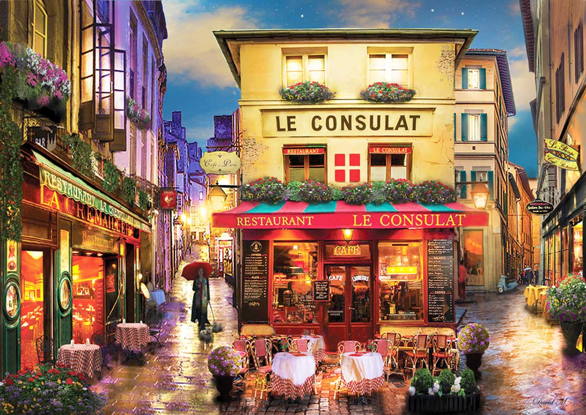 Meet Me in Paris France Jigsaw Puzzle