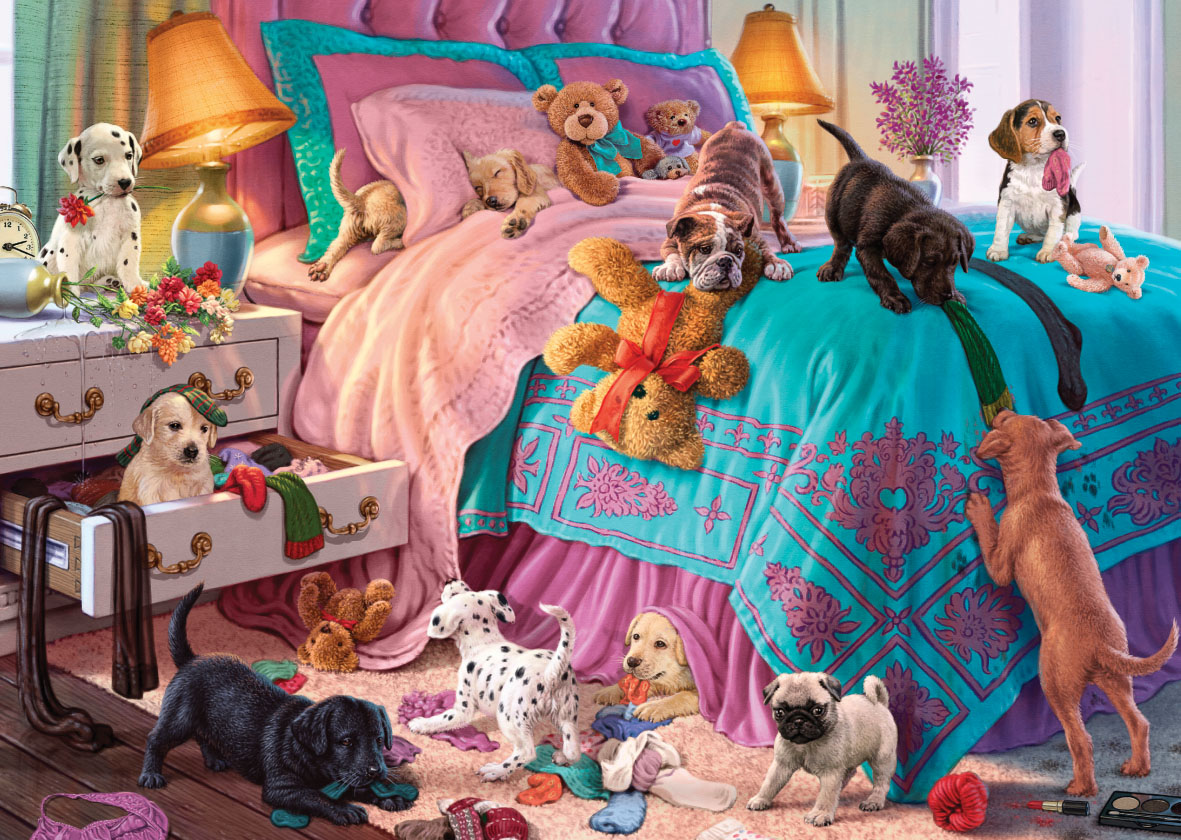 Puppies and Kittens Cats Jigsaw Puzzle