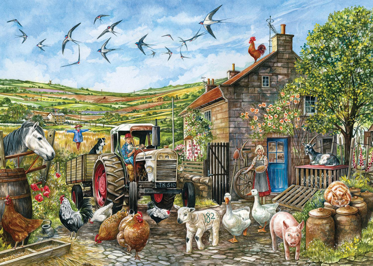Another Day in the Yorkshire Dales Countryside Jigsaw Puzzle
