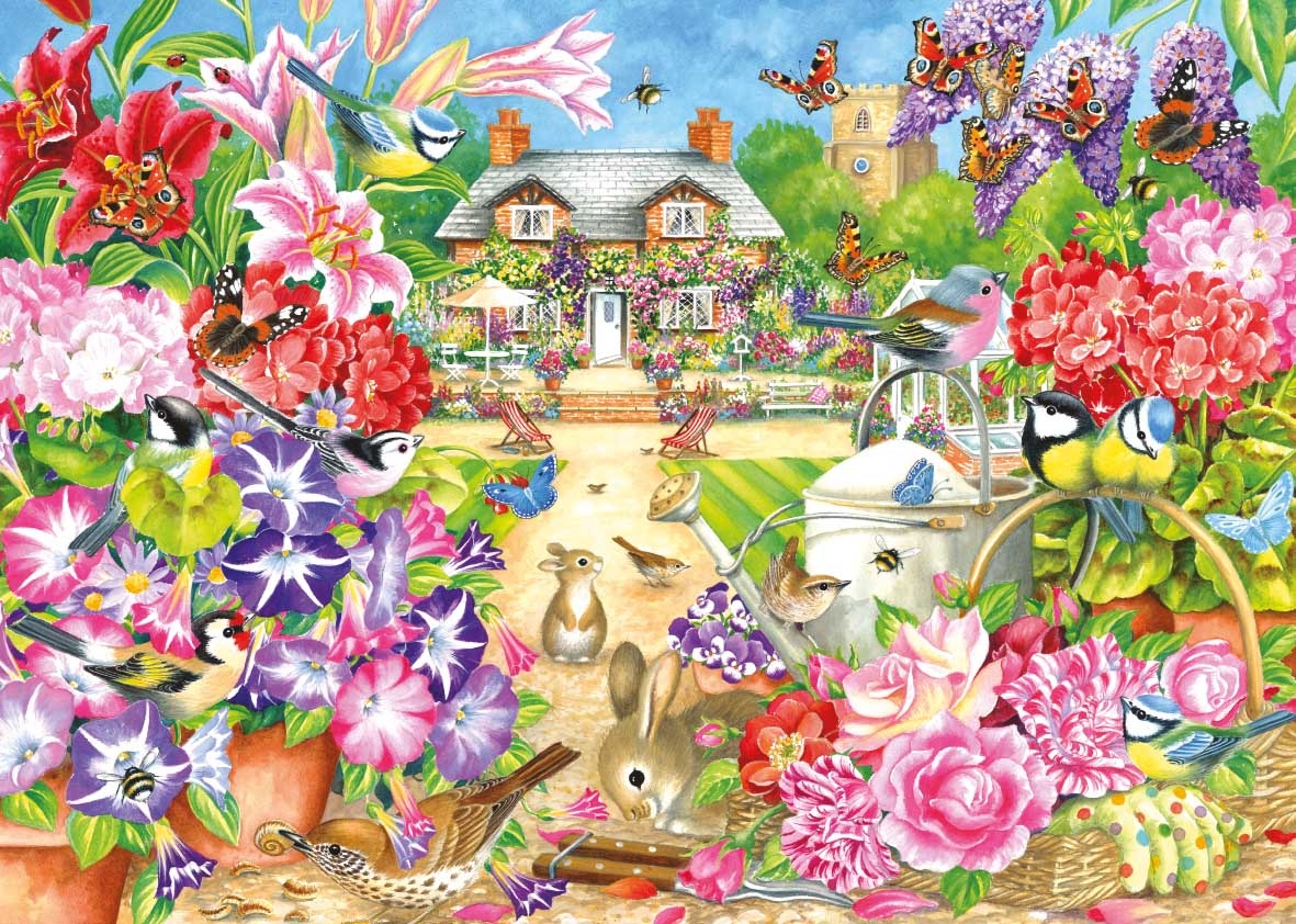 Summer Garden Summer Jigsaw Puzzle