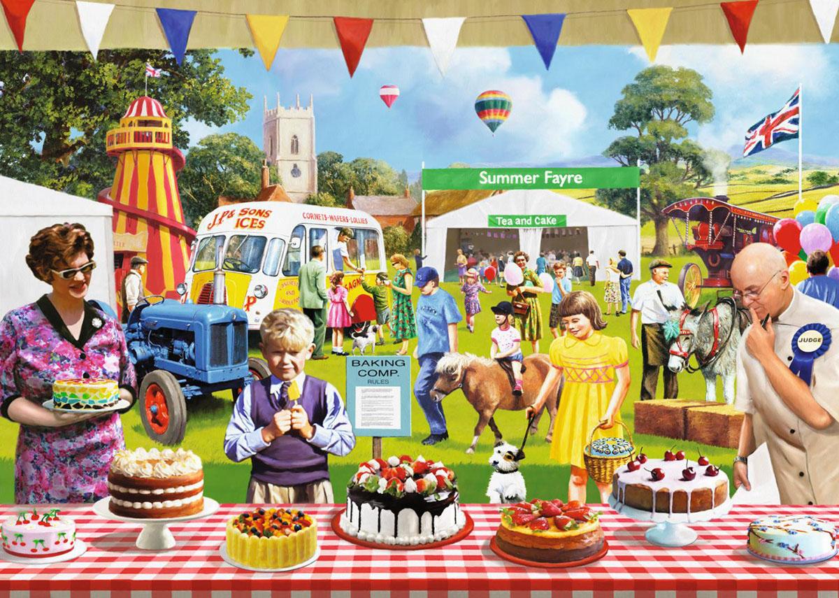 The Baking Fair Nostalgic / Retro Jigsaw Puzzle