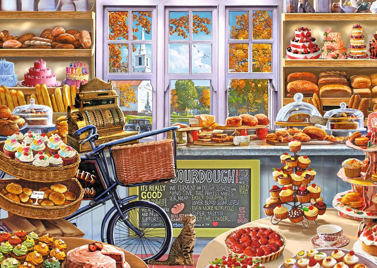 bella s bakery shop jigsaw puzzle puzzlewarehouse com