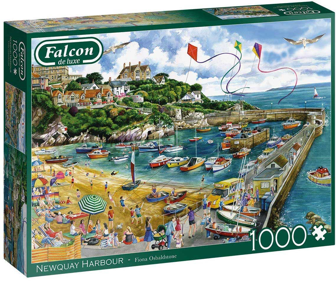 Newquay Harbour Beach Jigsaw Puzzle