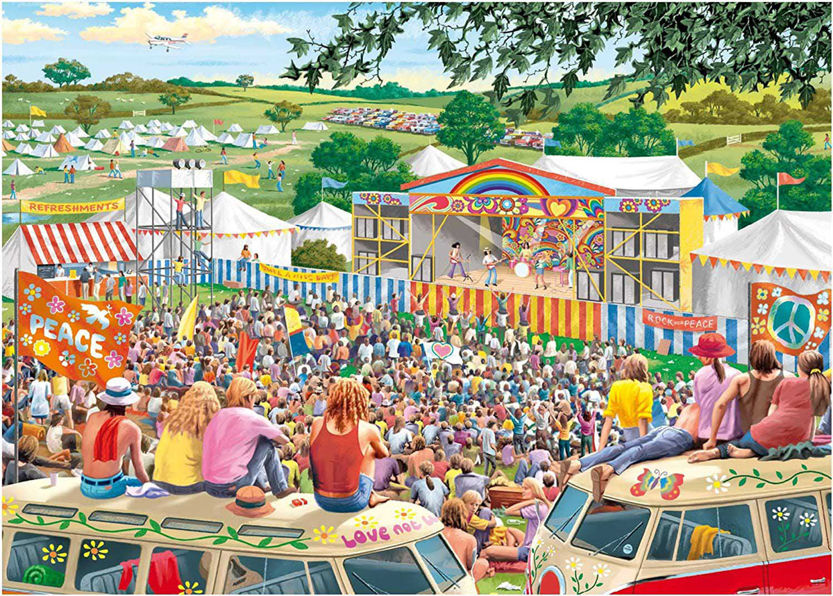 1960's Festival Father's Day Jigsaw Puzzle