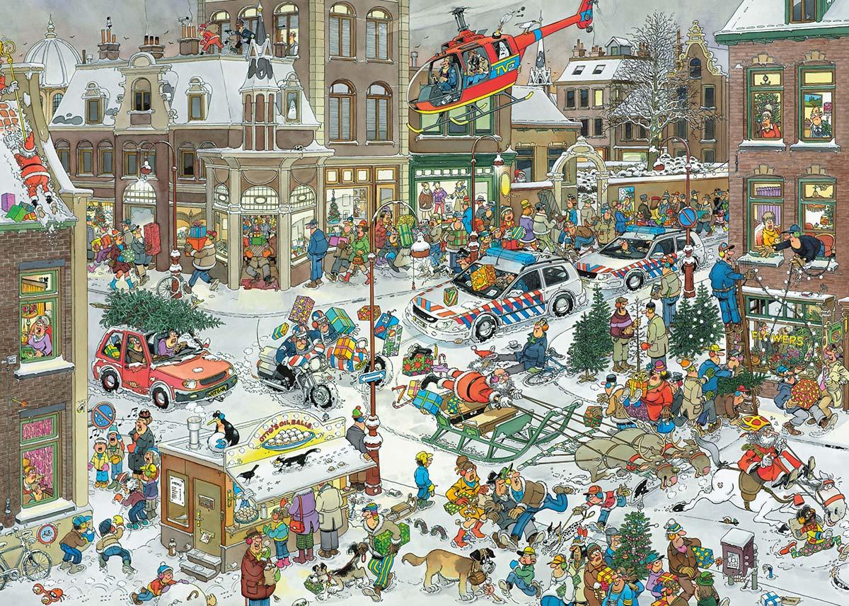 Christmas Santa Jigsaw Puzzle