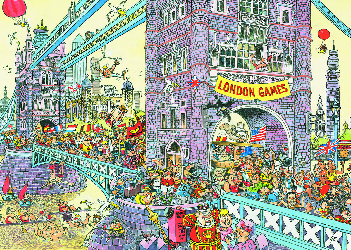 Wasgij Mystery #8 - The Final Hurdle Wasgij Jigsaw Puzzle