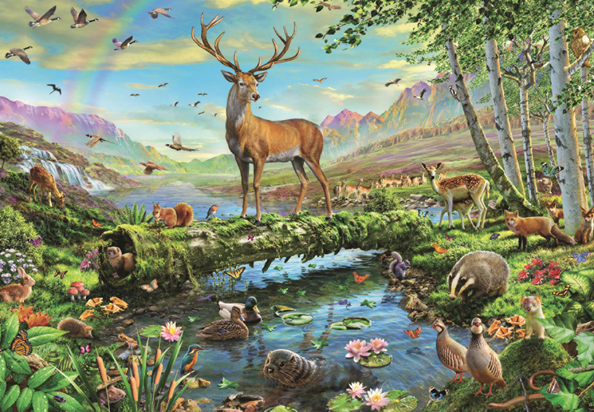 Wildlife Splendour Jigsaw Puzzle Puzzlewarehouse Com