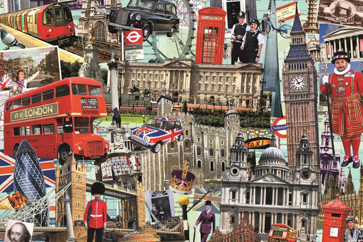 Best of… London Landmarks / Monuments Jigsaw Puzzle