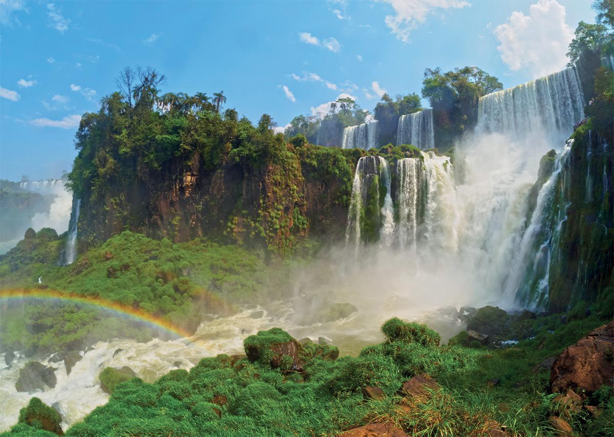 Iguazu Falls Landscape Jigsaw Puzzle