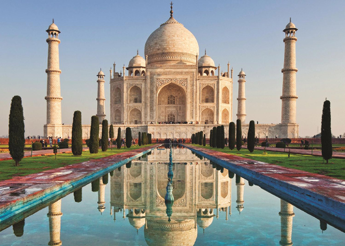 1000 Piece 18545 New Jumbo Jigsaw Puzzle India Taj Mahal
