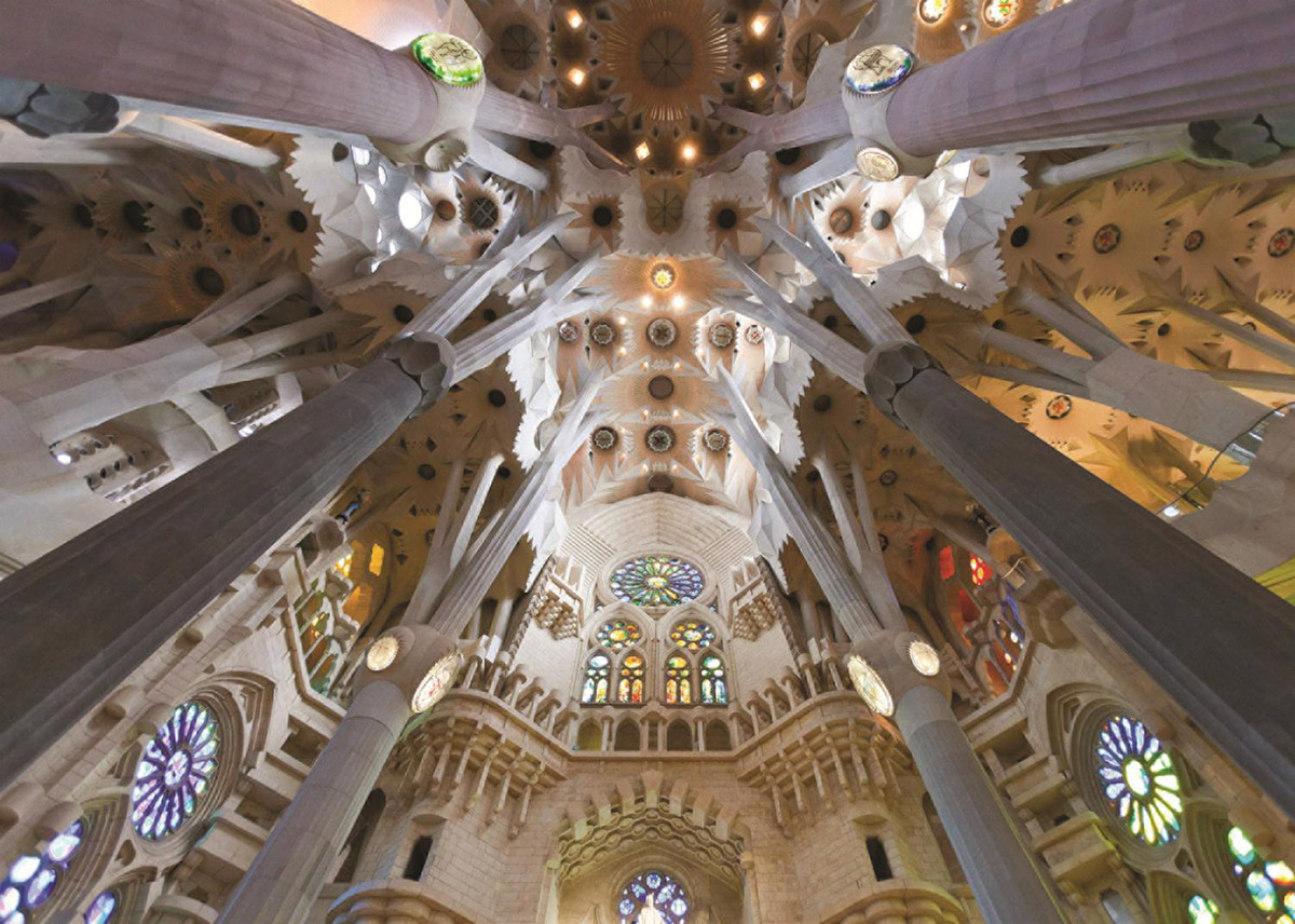 Sagrada Familia, Barcelona Photography Jigsaw Puzzle