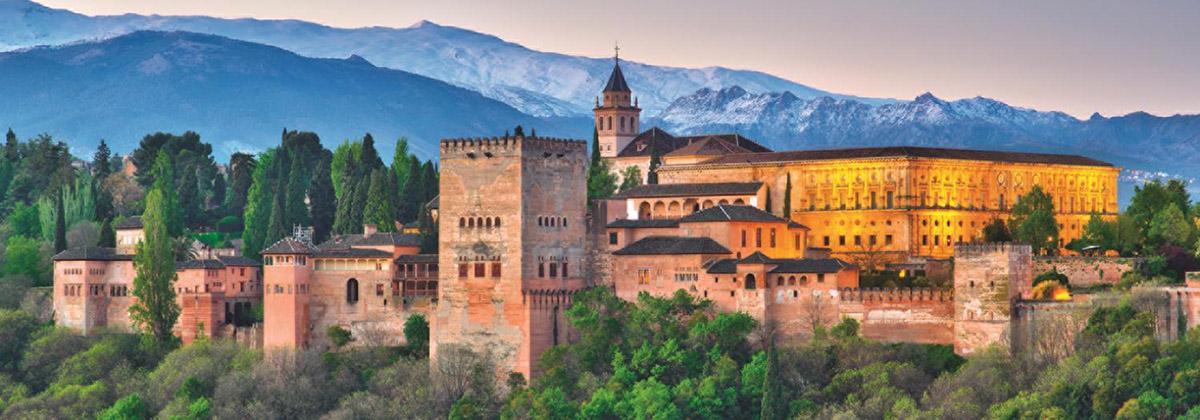 Alhambra, Spain Castles Jigsaw Puzzle