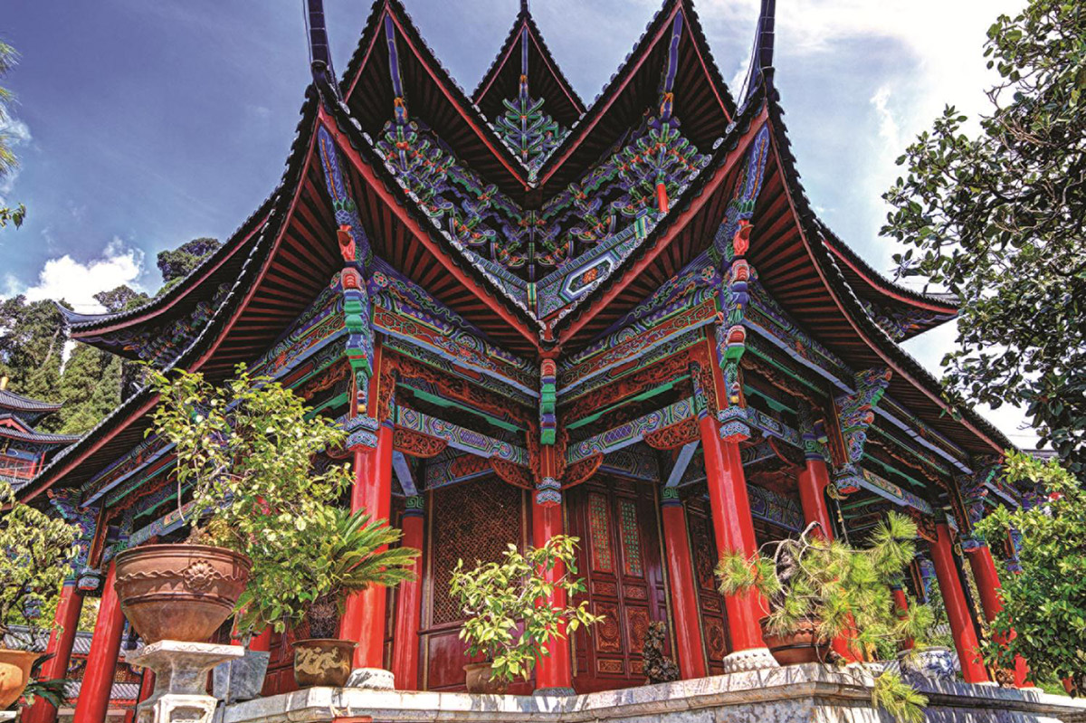 Chinese Temple Photography Jigsaw Puzzle