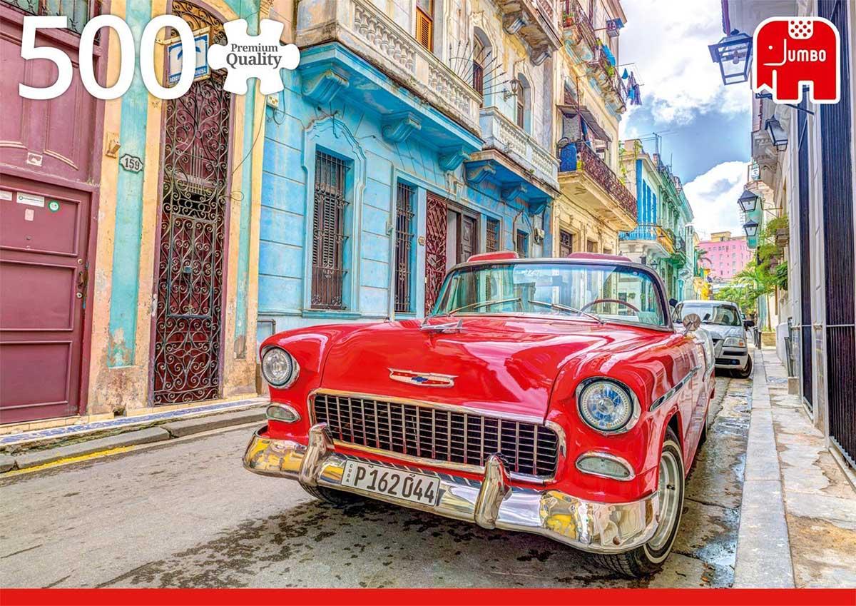 Havana, Cuba Cars Jigsaw Puzzle
