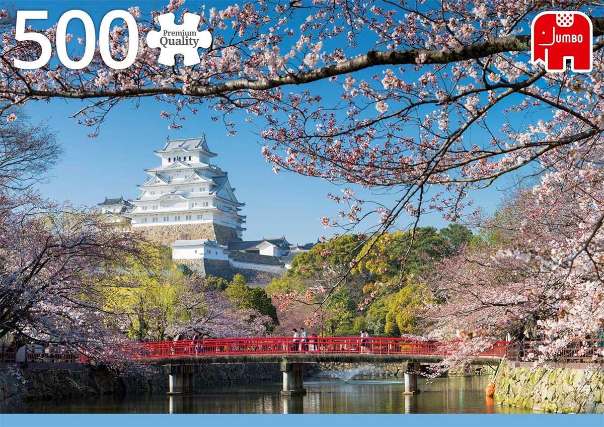 Himeji Castle, Japan Castles Jigsaw Puzzle