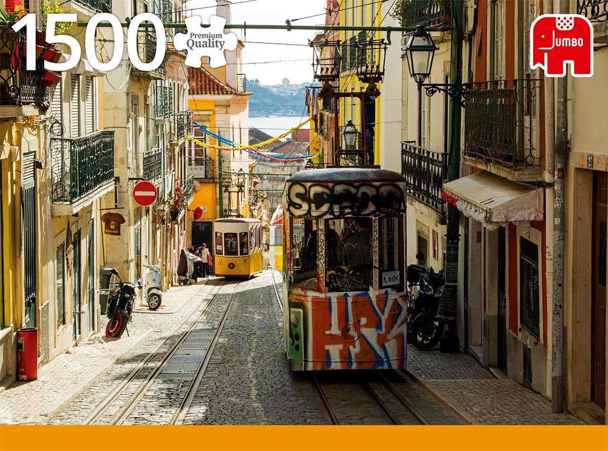 Lisbon, Portugal Cities Jigsaw Puzzle