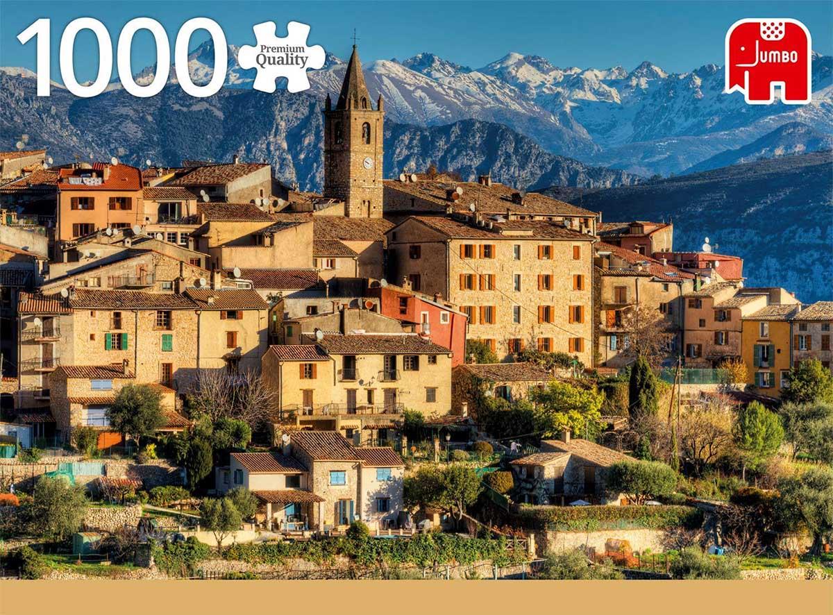 Alps near Côte d'Azur Mountains Jigsaw Puzzle