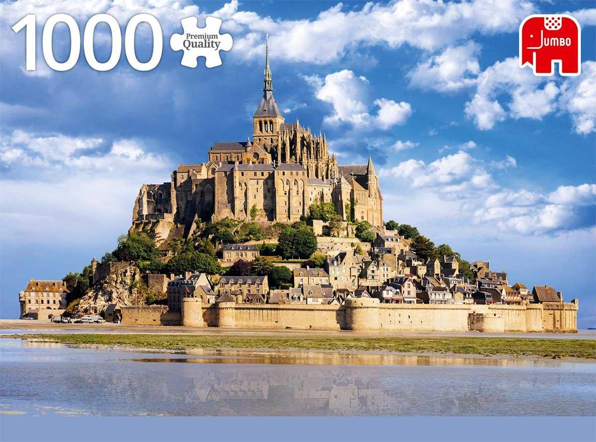 Mont Saint-Michel Travel Jigsaw Puzzle