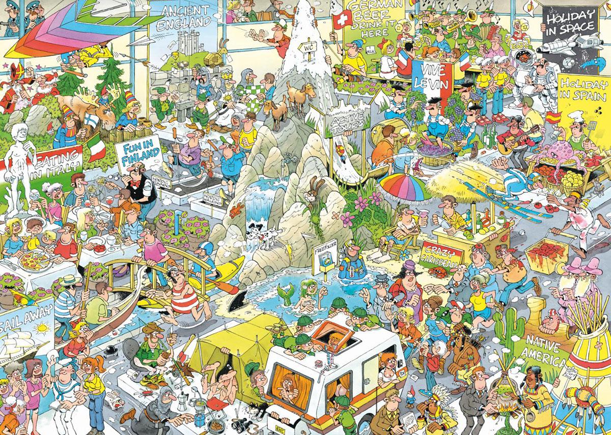 The Holiday Fair Cartoons Jigsaw Puzzle