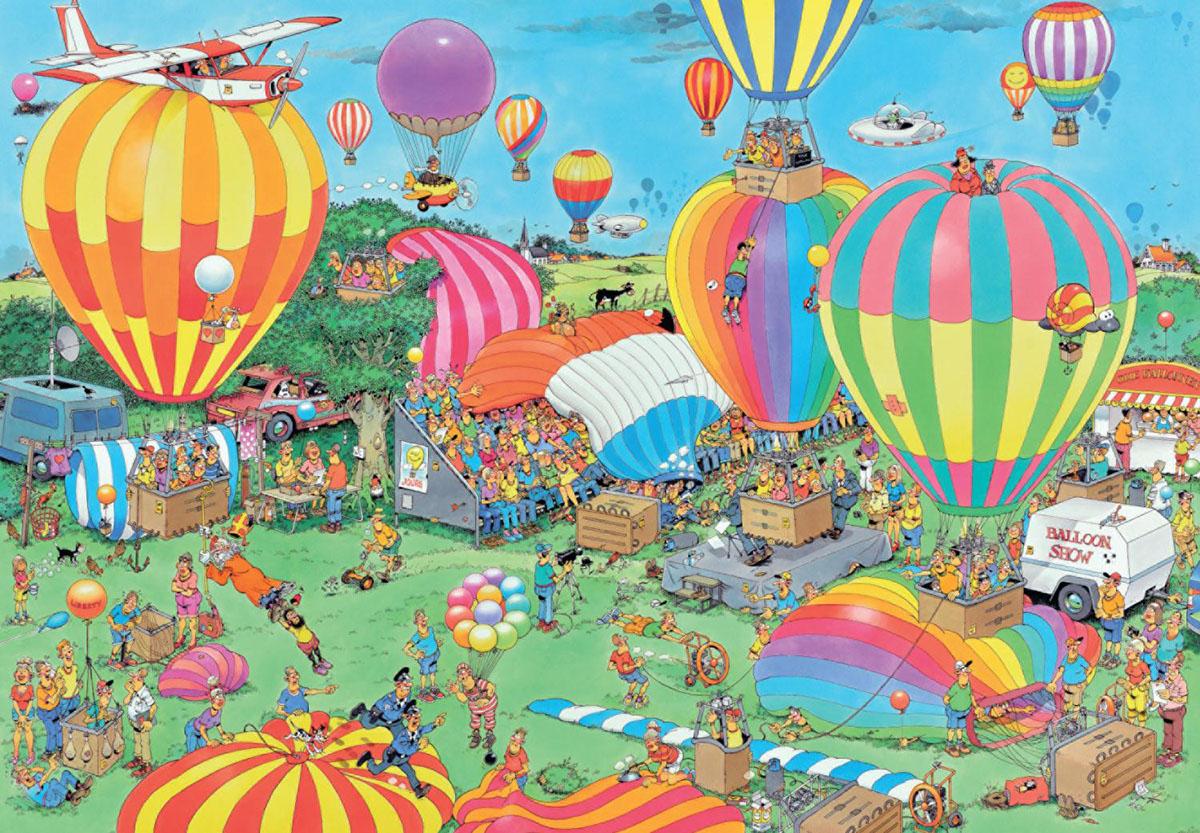The Balloon Festival Cartoons Jigsaw Puzzle