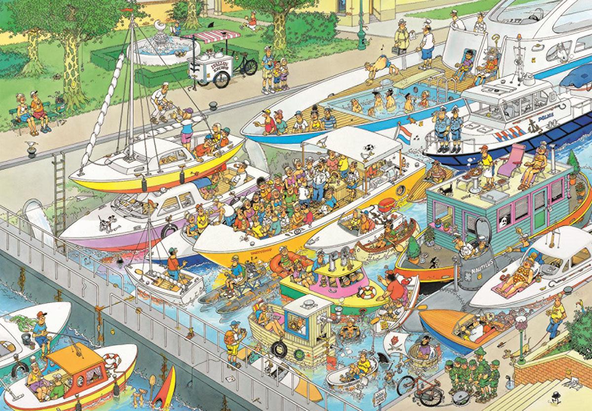 The Locks Cartoons Jigsaw Puzzle