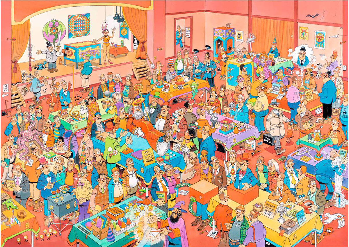 Magic Fair Cartoons Jigsaw Puzzle