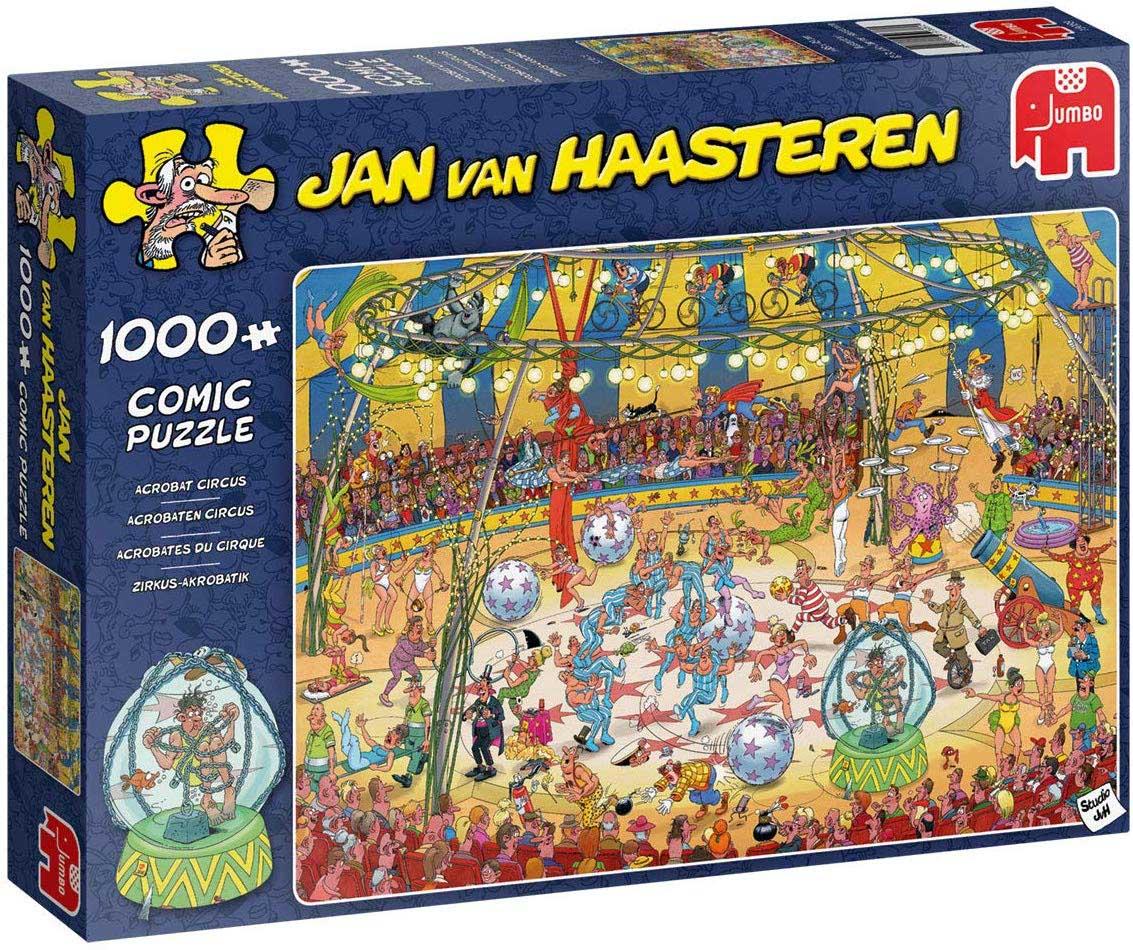 Acrobat Circus Cartoons Jigsaw Puzzle