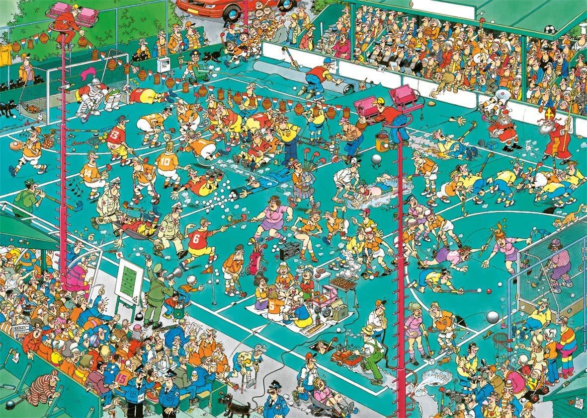 Hockey Championships Cartoons Jigsaw Puzzle