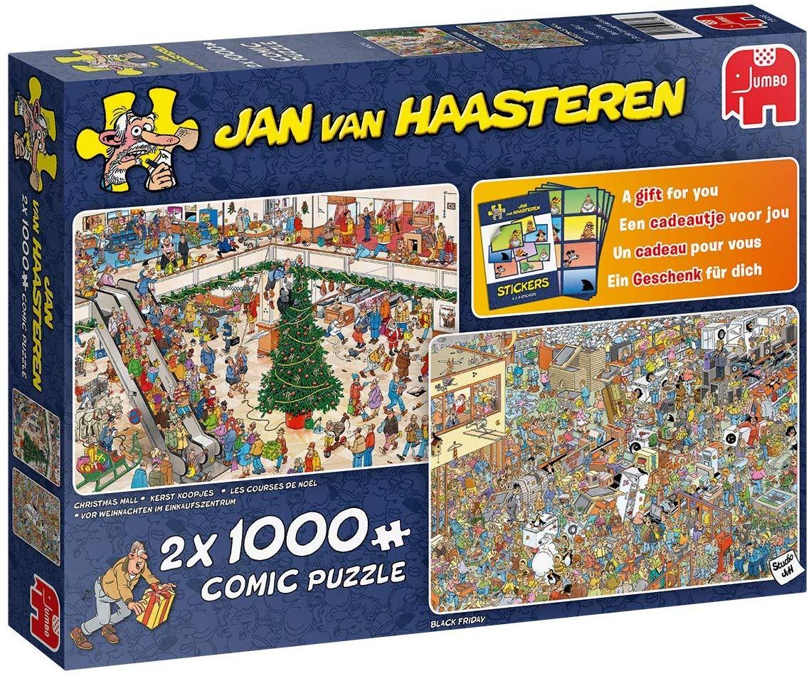 Holiday Shopping Christmas Jigsaw Puzzle