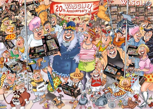Wasgij Original 27: The 20th Party Parade Cartoons Jigsaw Puzzle