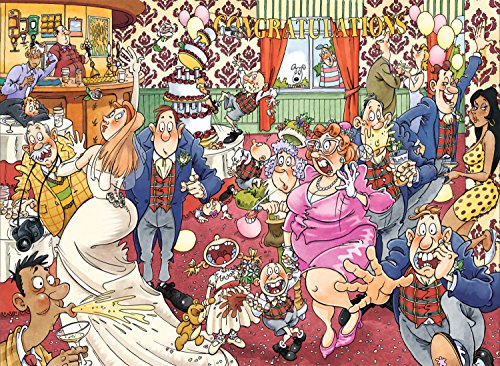 Wasgij Original 29:Catching Wedding Fever Wasgij Jigsaw Puzzle