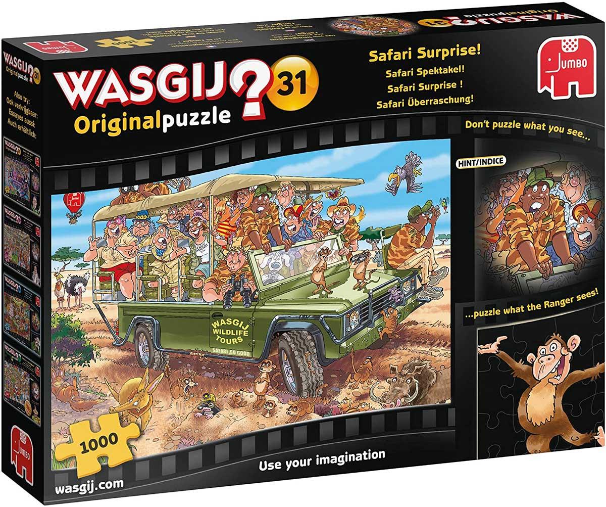 Wasgij Original 31: Safari Surprise! Animals Jigsaw Puzzle