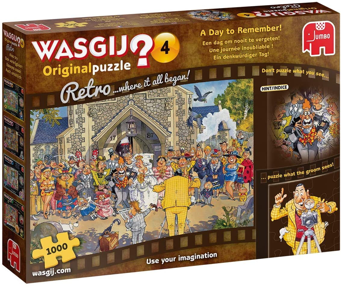 Wasgij Original 4: A Day to Remember Wasgij Jigsaw Puzzle