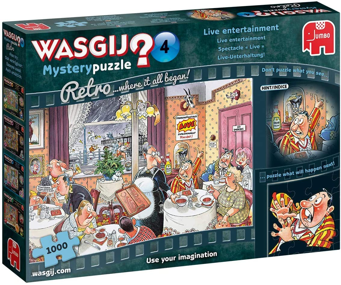 Wasgij Mystery 4: Live Entertainment Wasgij Jigsaw Puzzle