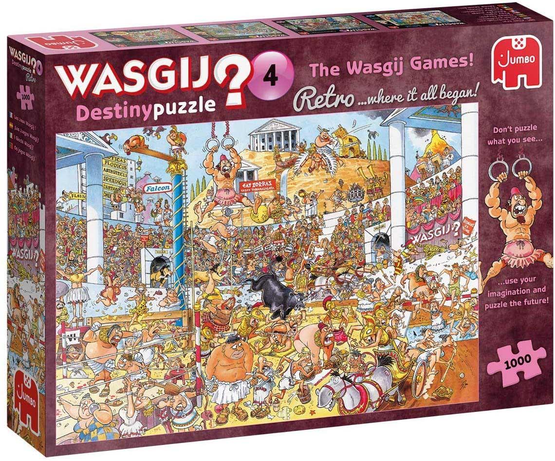 Wasgij Destiny 4: Olympic Odyssey Sports Jigsaw Puzzle
