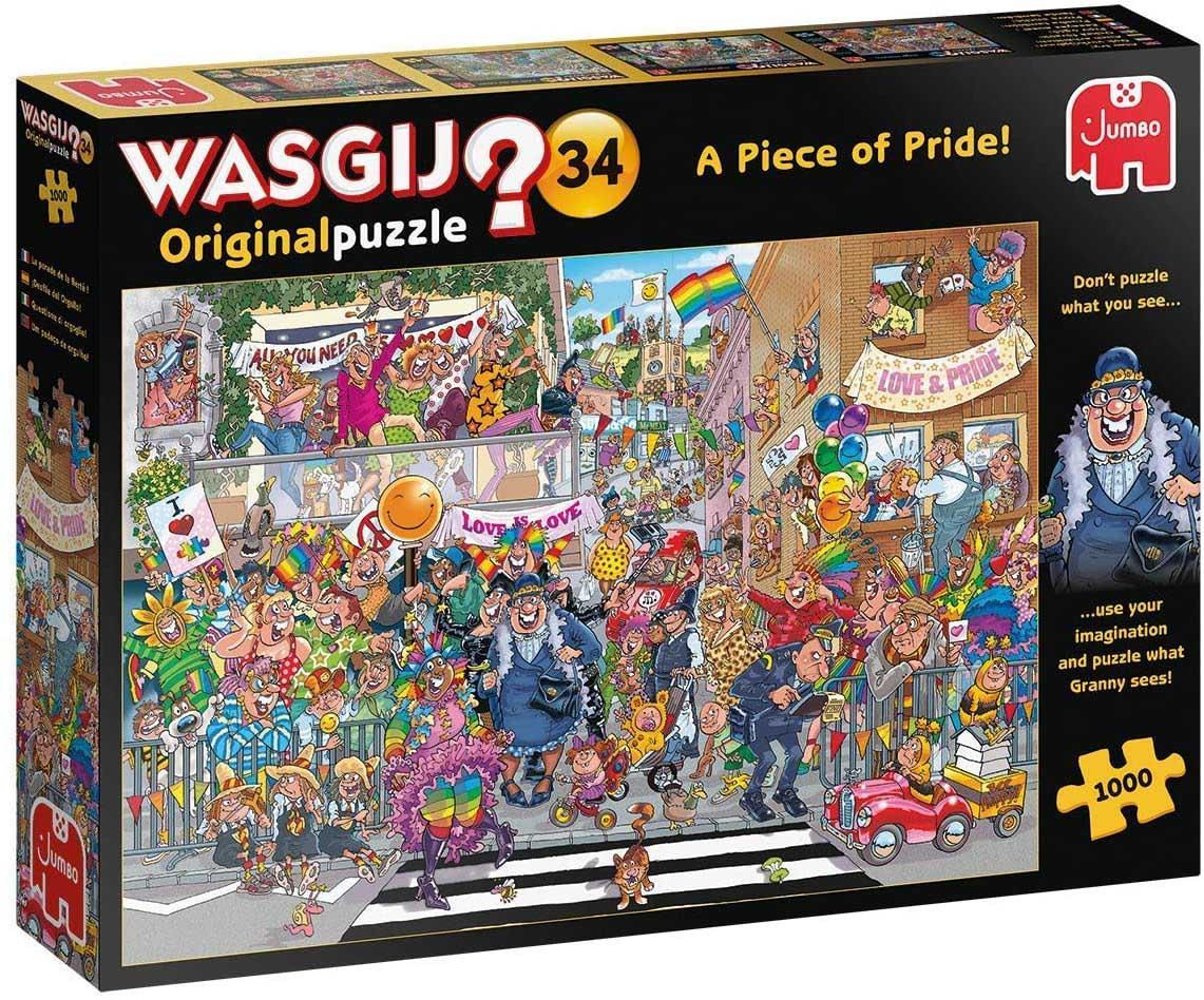 Wasgij Original 34: A Piece of Pride Street Scene Jigsaw Puzzle