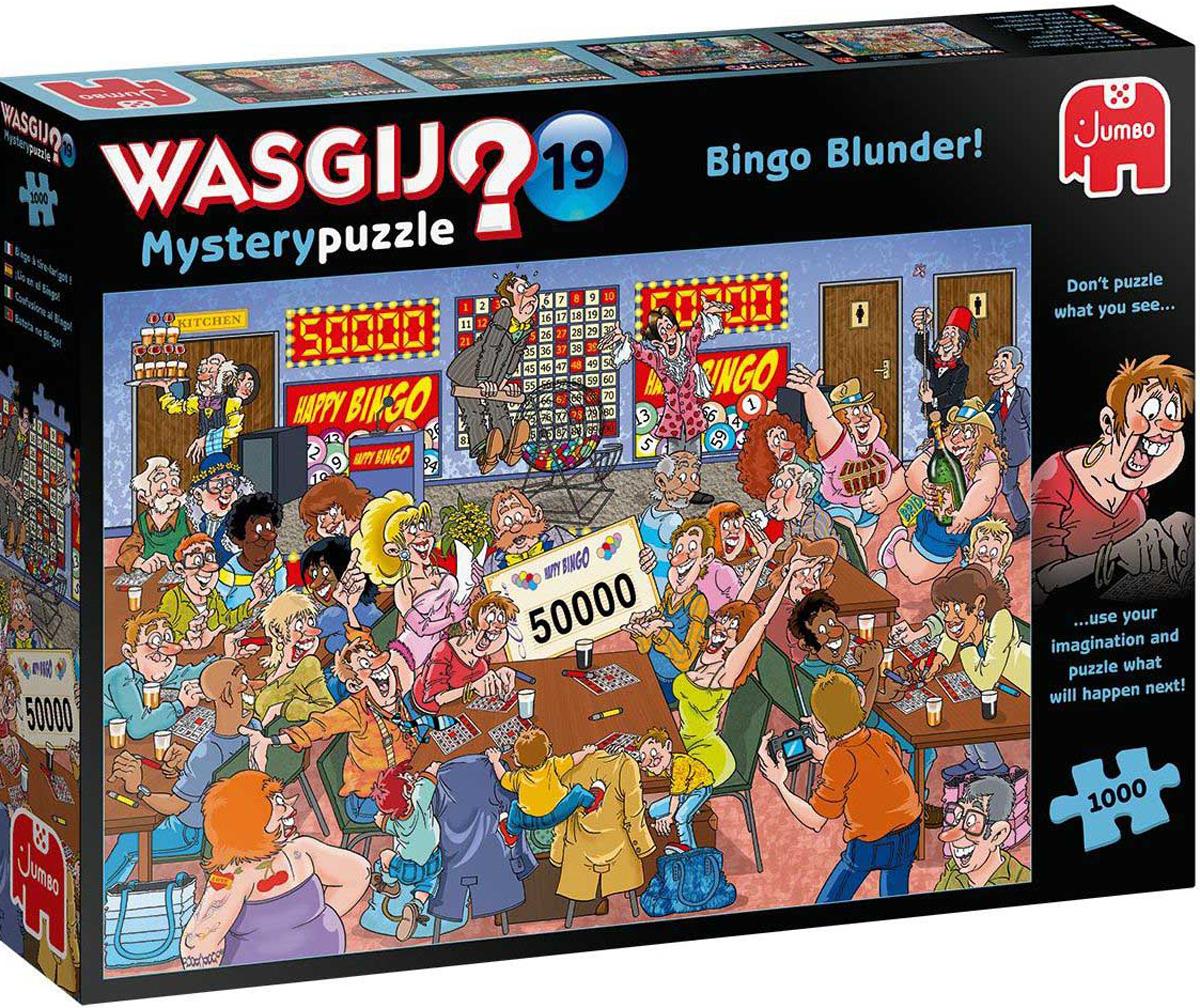Wasgij Mystery 19: Bingo Blunder! People Jigsaw Puzzle