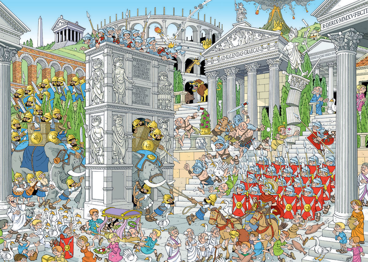 The Romans (Pieces of History) People Jigsaw Puzzle