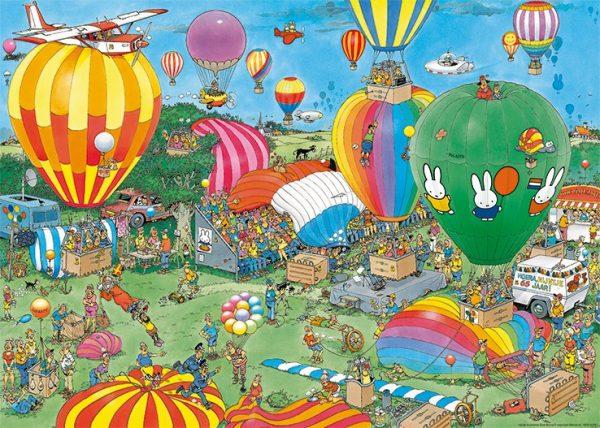 Hooray Miffy 65 Balloons Jigsaw Puzzle